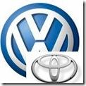 VW-Toyta Emblem