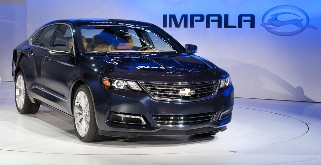 2014 chevrolet impala it s back in a big way auto ramblings. Black Bedroom Furniture Sets. Home Design Ideas