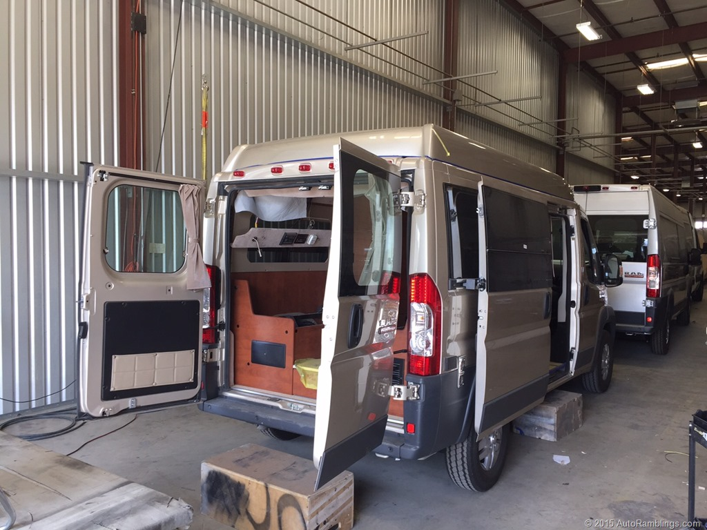 Sportsmobiles New ProMaster RV Auto Ramblings