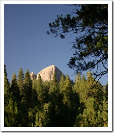 Fresno Dome from Sky Ranch Rd